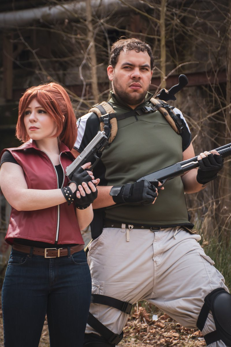 Robkabob On Twitter Claire And Chris Redfield Taking A Break