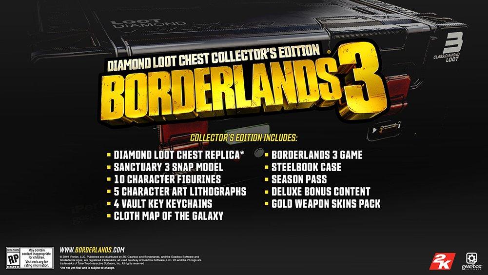Borderlands 3 - Vaza capa de Borderlands 3, e data de lançamento em propaganda