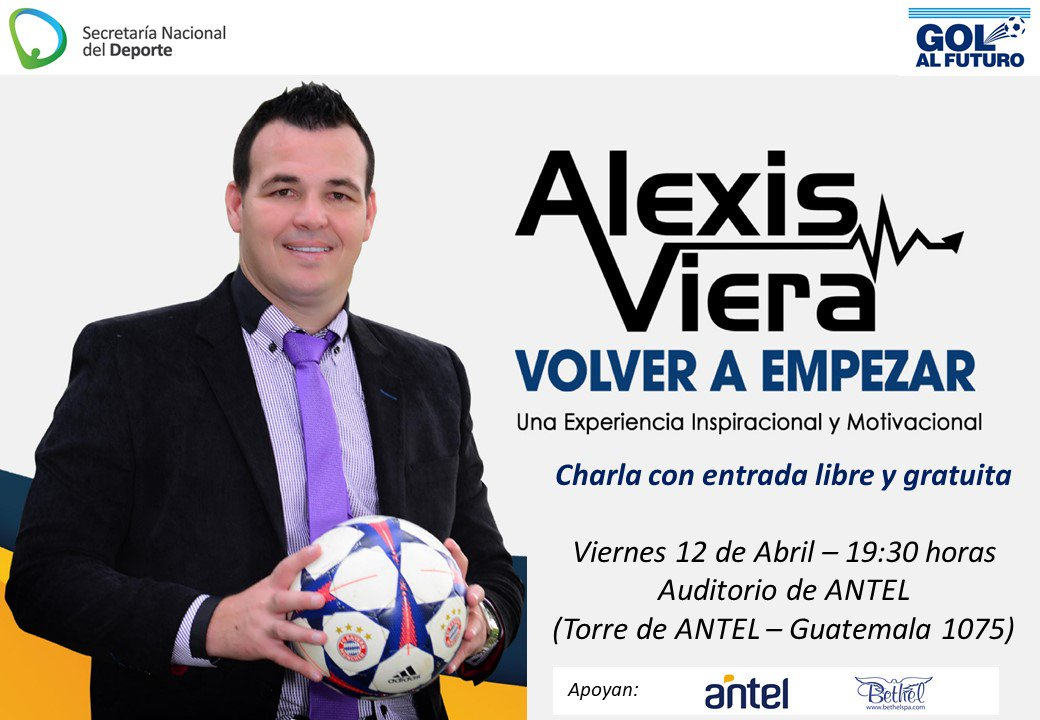 Charlas Alexis Viera On Twitter Viernes 12 De Abril 19 30