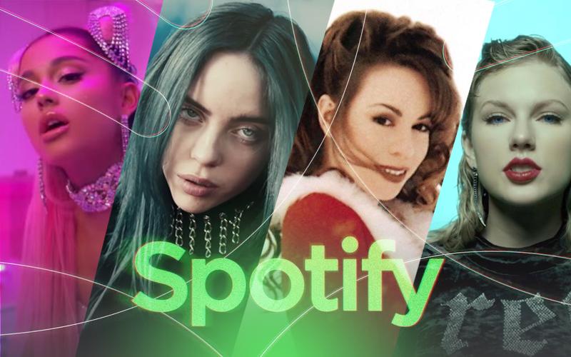 ICÔNICA: Billie Eilish permanece soberana no Spotify batendo recorde e é a artista global que mais vende digitalmente