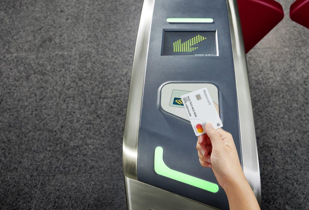 【交通】クレカをかざして地下鉄に乗れる「SimplyGo」、シンガポールで開始