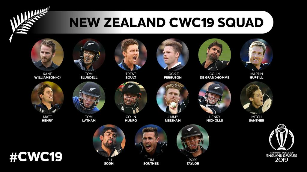 D3N4RgfWwAAEEGL - Cricket World Cup 2019: All the squads