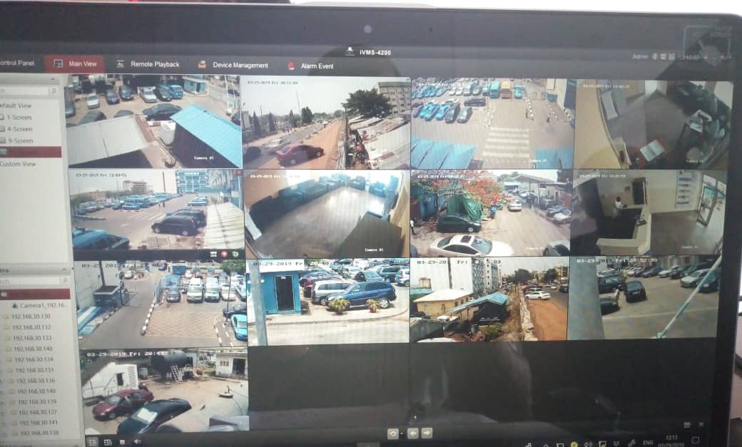 Even with the cheapest CCTV Camera in our store, you can get a very clear view on all angles. We leave no blind spot We survey, we sell, we install, we maintain. Your safety is our priority. Call: 08033133950 #mitobicctv #surveillance #securityservices #hilook #hikvision