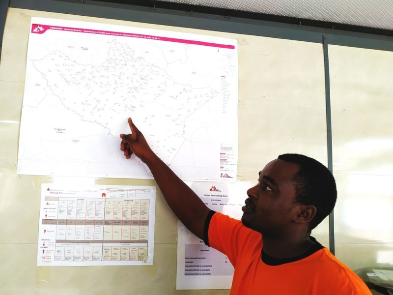 """""""Chimanimani was totally cut off from the rest of the world ... """"   Mufoya, #GIS Officer, #Zimbabwe  Here's why maps are important for a quick &  effective emergency response : https://www.msf.org.za/stories-news/news-our-projects/mapping-needs-new-technologies-play-essential-role-humanitarian…    @TheMissingMaps @hotosm_uganda"""