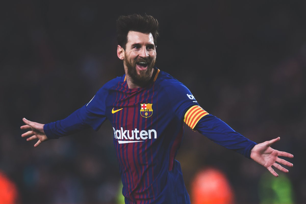 Can we take a moment to appreciate the season Lionel Messi is having. Most goals (42) Most assists (21) Most free-kick goals (6) Most hat-tricks (4) Most goals in the history of the top 5 leagues (415) Oh, and he was injured for almost a month.