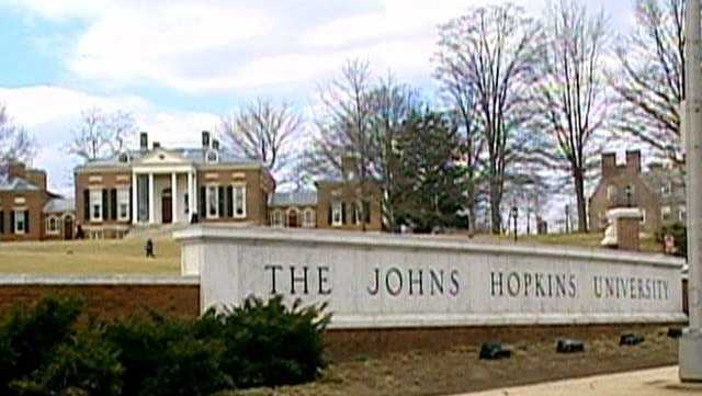 Social Media Posts for Johns Hopkins University