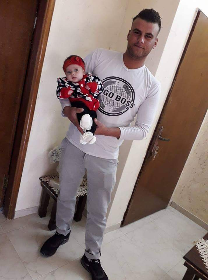 One bullet from a Zionist Israeli occupier killed 23-year-old Mohammed Abdul-Fattah and changed his child's life forever!!  Abdul-Fattah is from Salfit city, he was shot and killed by an Israeli settler southern Nablus.