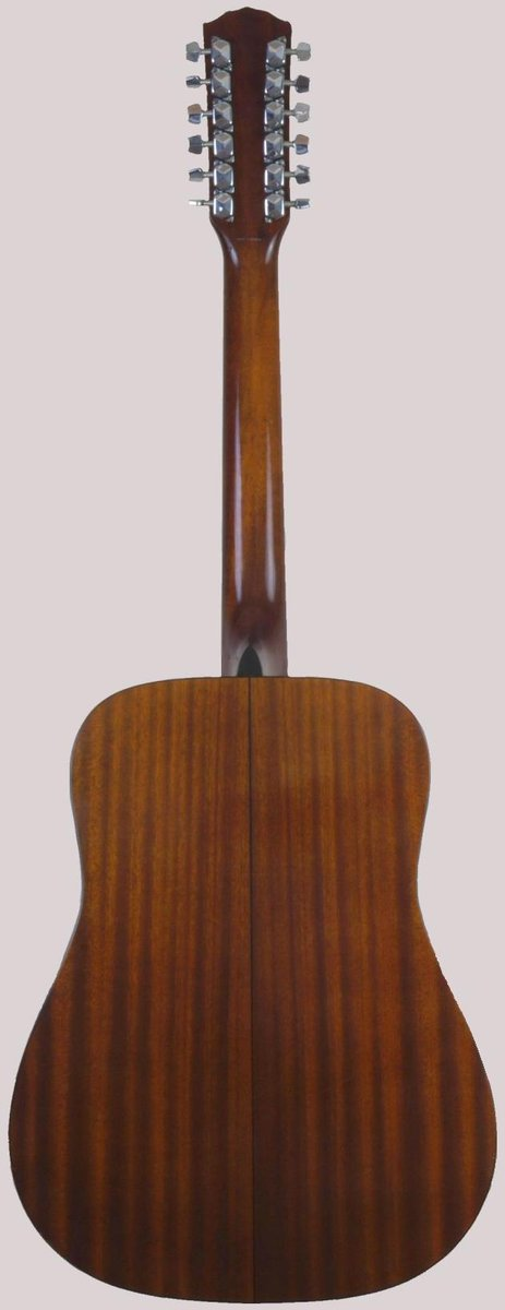 korean Fender spruce and mahogany laminate 12 string guitar