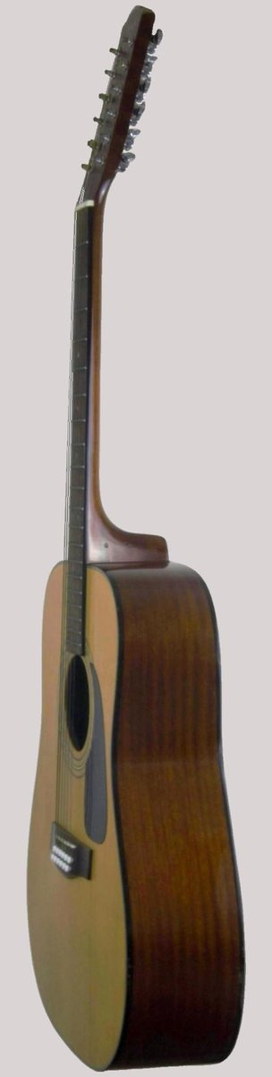 twelve string folk acoustic guitar from Fender