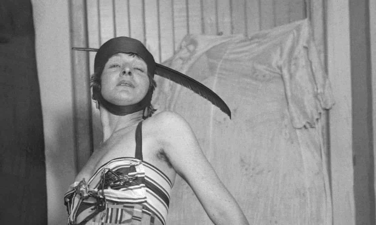 """""""Evidence suggests the famous urinal Fountain, attributed to Marcel Duchamp, was actually created by Baroness Elsa von Freytag-Loringhoven."""" by Siri Hustvedt. A must-read for those willing to question by whom and for whom art history was written. 👀 https://gu.com/p/b3nbb/stw"""
