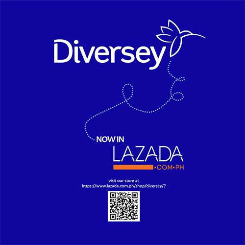 Yes we heard you! Finally, Diversey products are now in Lazada Philippines! Visit our store at http://ow.ly/8uwm50onYwa #Diversey #Lazada
