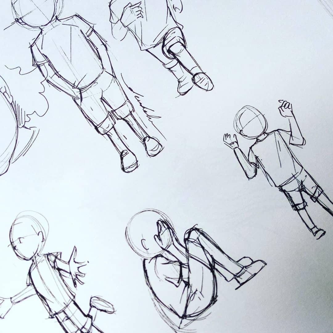 Body proportions for my main character #dailyart #dailyillustration #characterdesign #comics #comicbook #child #kid https://t.co/Cj4MZE4dA1