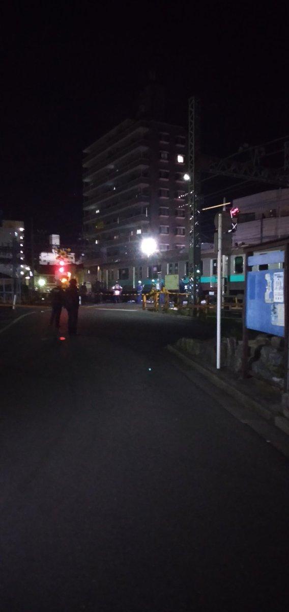 小田急小田原線の小田急相模原駅~相武台前駅間で人身事故の現場画像