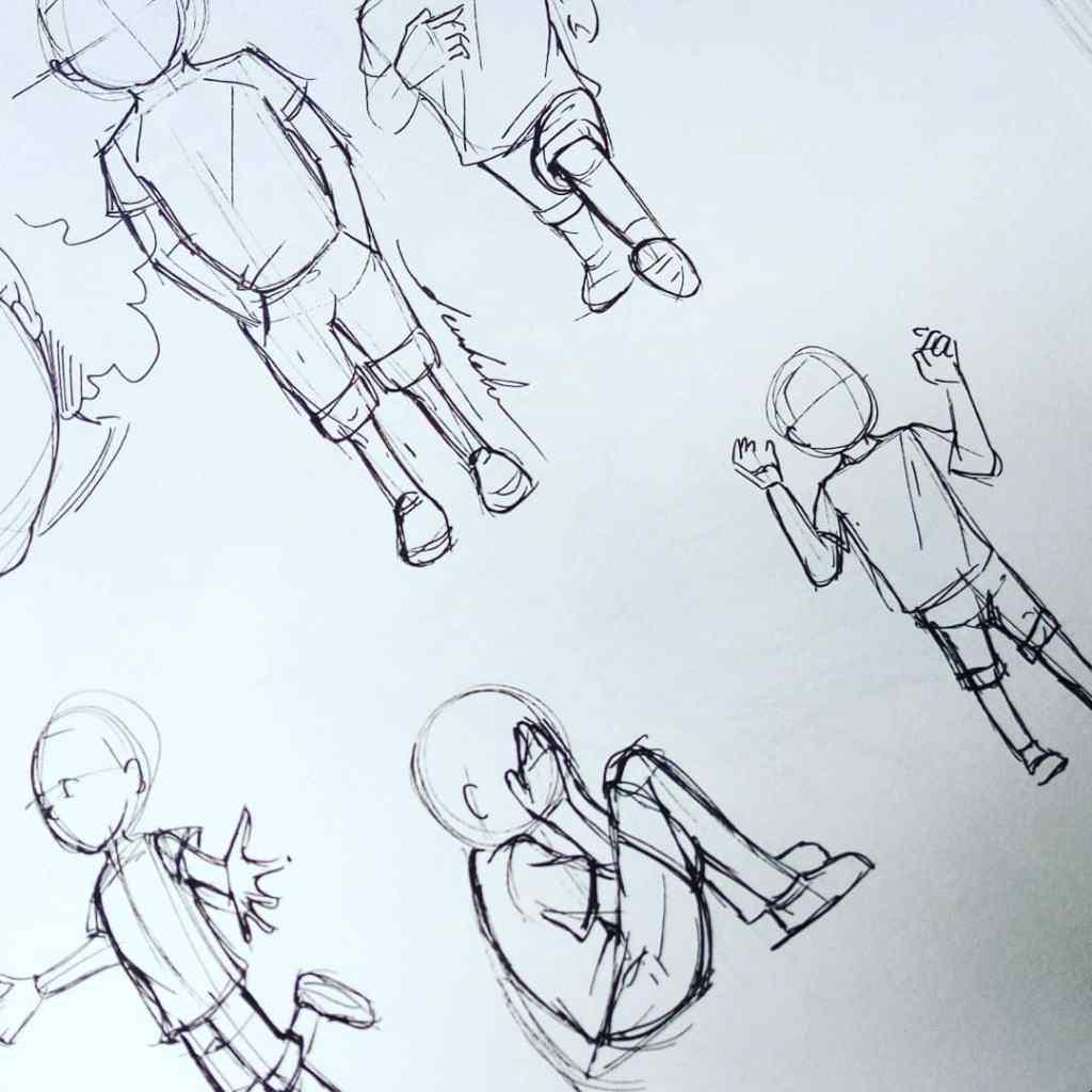 Body proportions for my main character https://t.co/4ytwu0OCo9 https://t.co/kk0X97d28Z