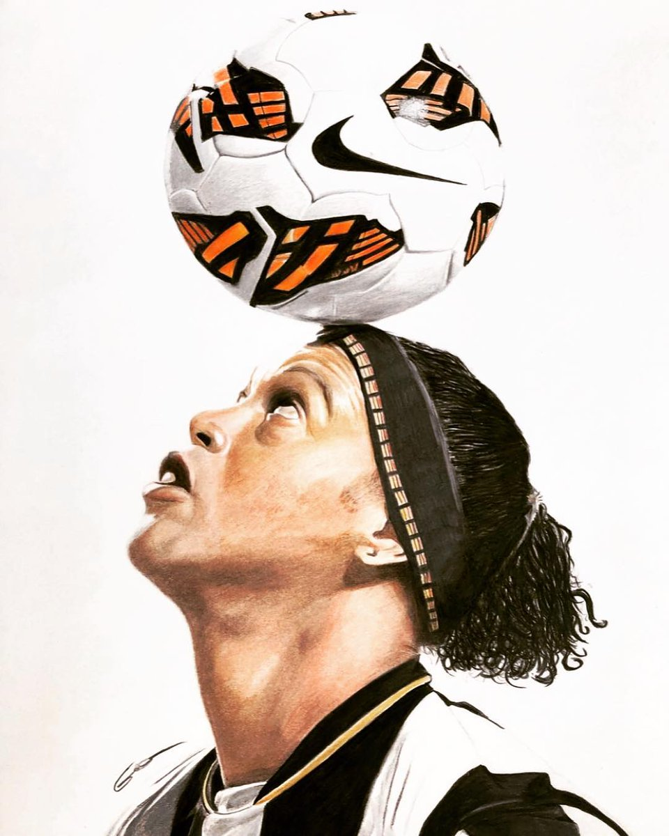 #RonaldinhoArt 👏🏾🎨🤙🏾 #lazzartss