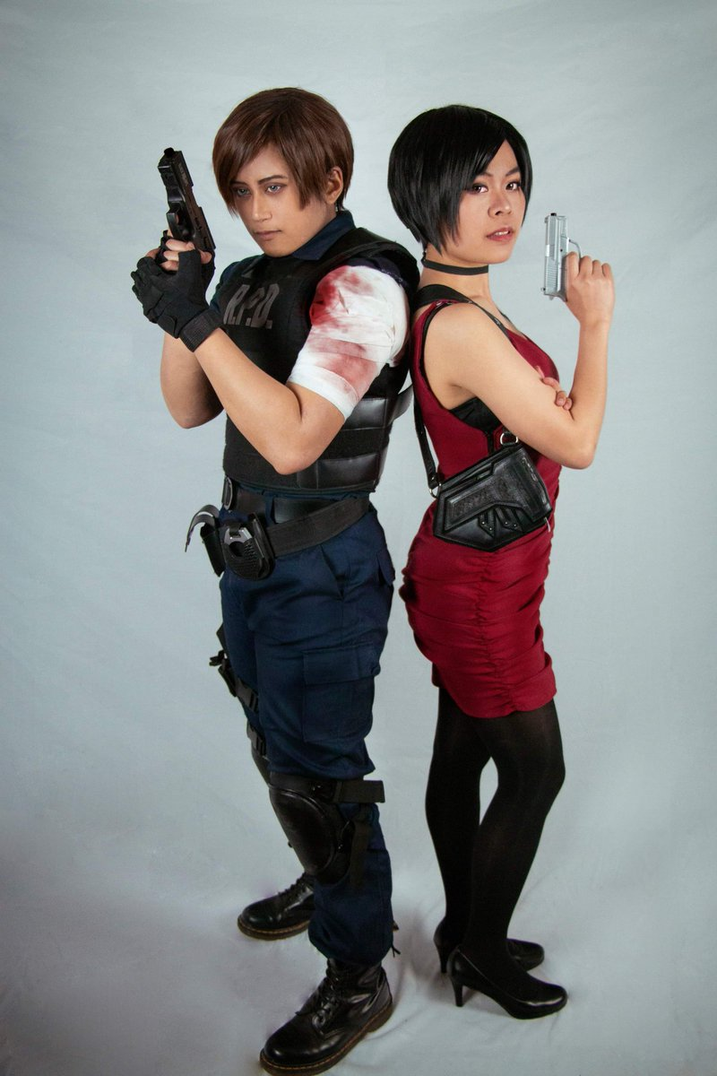 Koh Cosplay Hiatus On Twitter Leon Kennedy Ada Wong From
