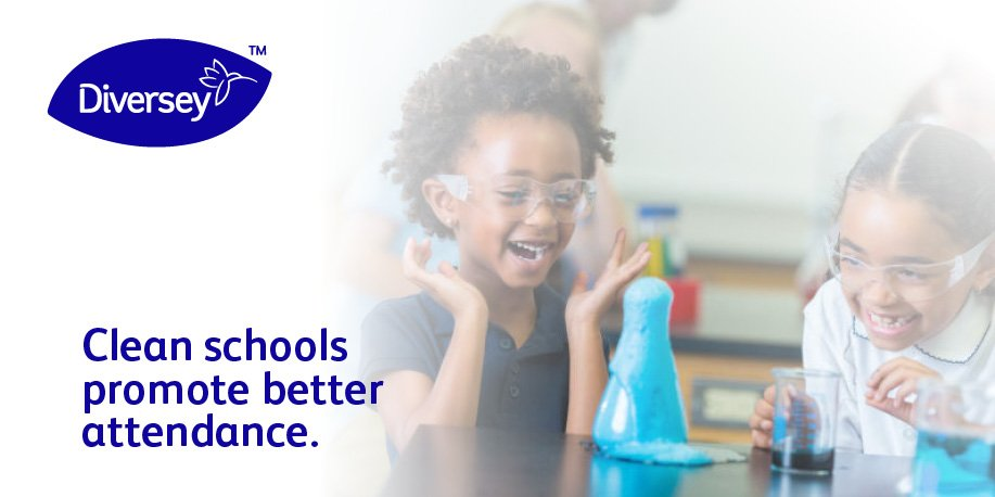 Students and teachers are at their best when they're healthy, and we have the solutions needed to keep everyone healthy and ensure education facilities look their best. https://bit.ly/2YHILHl  #diversey #clean #education #planahead