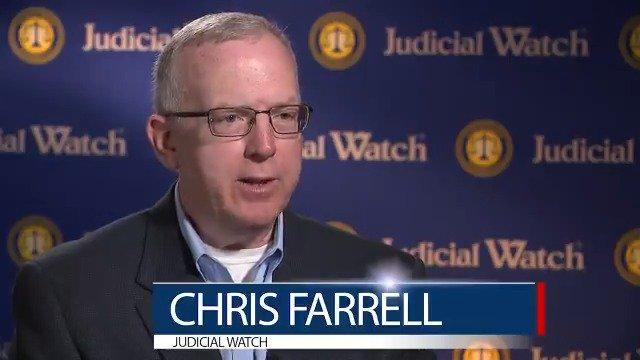 """Judicial Watch ⚖️ on Twitter: """"Chris Farrell: Were Govt Officials Peddling  Stories to CNN? WATCH:… """""""