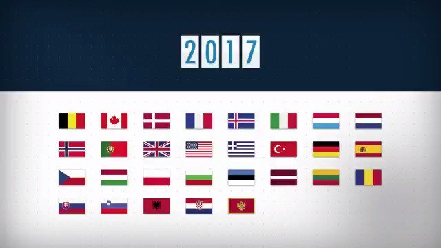 This week marks the 7⃣0⃣th anniversary of @NATO.   It started with 1⃣2⃣ allies in 1949, now we are 2⃣9⃣.   🇦🇱🇧🇪🇧🇬🇨🇦🇭🇷🇨🇿🇩🇰🇪🇪🇫🇷🇩🇪🇬🇷🇭🇺🇮🇸🇮🇹🇱🇻🇱🇹🇱🇺🇲🇪🇳🇱🇳🇴🇵🇱🇵🇹🇷🇴🇸🇰🇸🇮🇪🇸🇹🇷🇬🇧🇺🇸   #WeAreNATO #NATO70