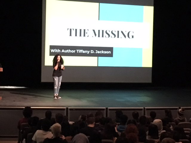 Thank you so much to Tiffany D. Jackson <a target='_blank' href='http://twitter.com/WriteinBK'>@WriteinBK</a> for her fabulous presentation to our W-L students this morning <a target='_blank' href='http://twitter.com/GeneralsPride'>@GeneralsPride</a> <a target='_blank' href='http://twitter.com/APSLibrarians'>@APSLibrarians</a>! <a target='_blank' href='https://t.co/AFAiU8ltuq'>https://t.co/AFAiU8ltuq</a>