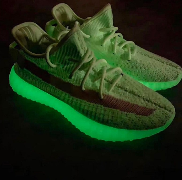 "f87dc9b42 Adidas Yeezy Boost 350 V2 ""Glow in the Dark"" Release Date  Spring 2019  Release Price   250  Yeezys  YeezyBoost  Boost  Yeezy350  Yeezy350V2   YeezyShoes ..."