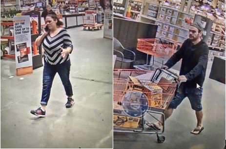 Shoplifting At Home Depot