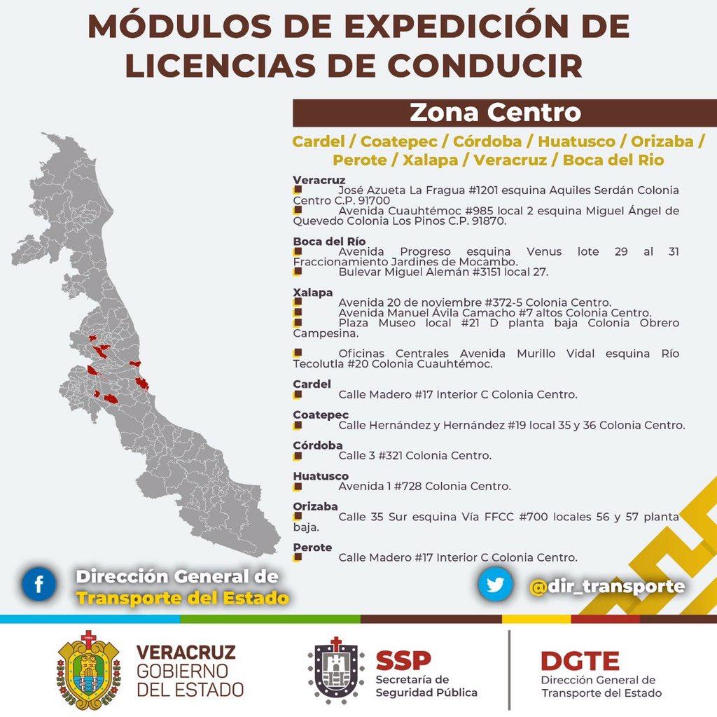 Transporte Veracruz в Twitter Hola Buen Día Los Módulos