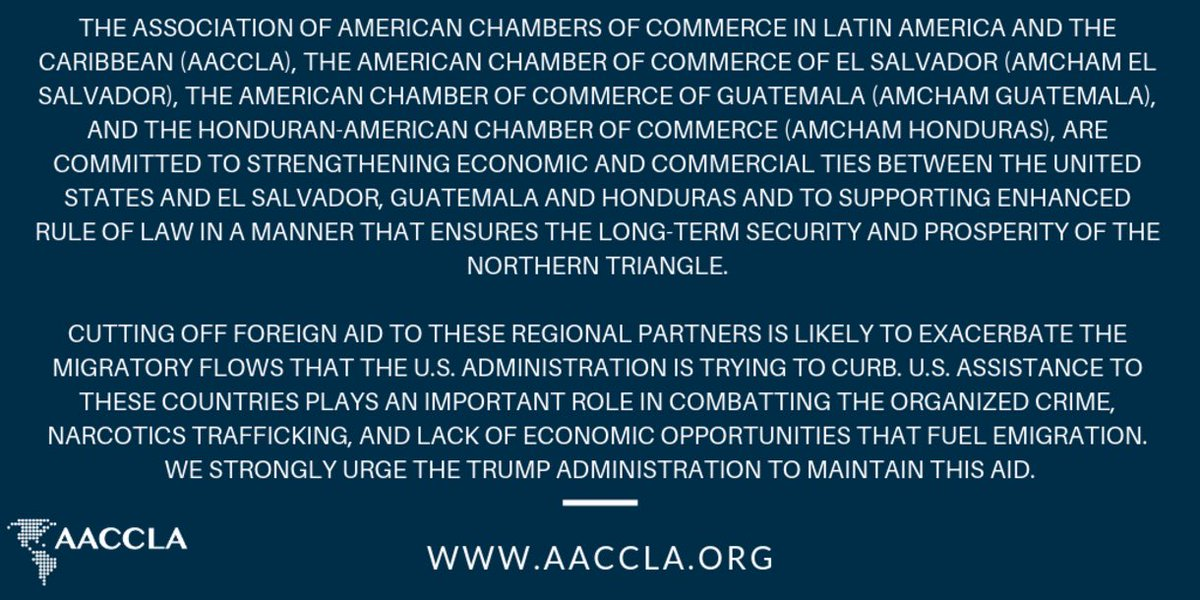 test Twitter Media - AACCLA Statement on Aid to #CentralAmerica https://t.co/wspOX9AfGp