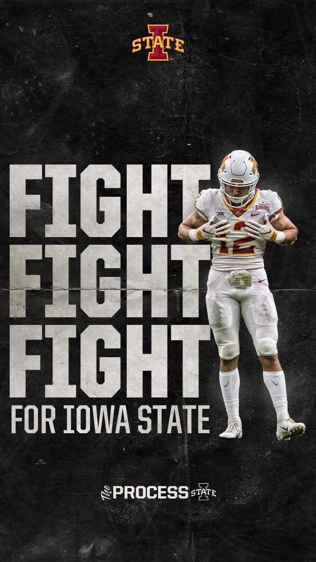 """Cyclone Football on Twitter: """"Fight, fight, fight for Iowa ..."""