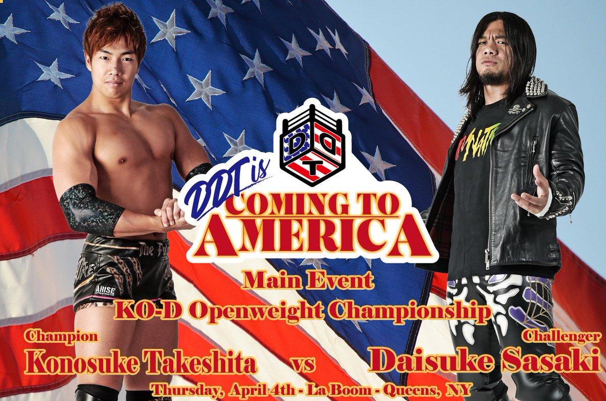 "DDT: ""DDT is Coming to América"" Tetsuya Endo se corona 2"