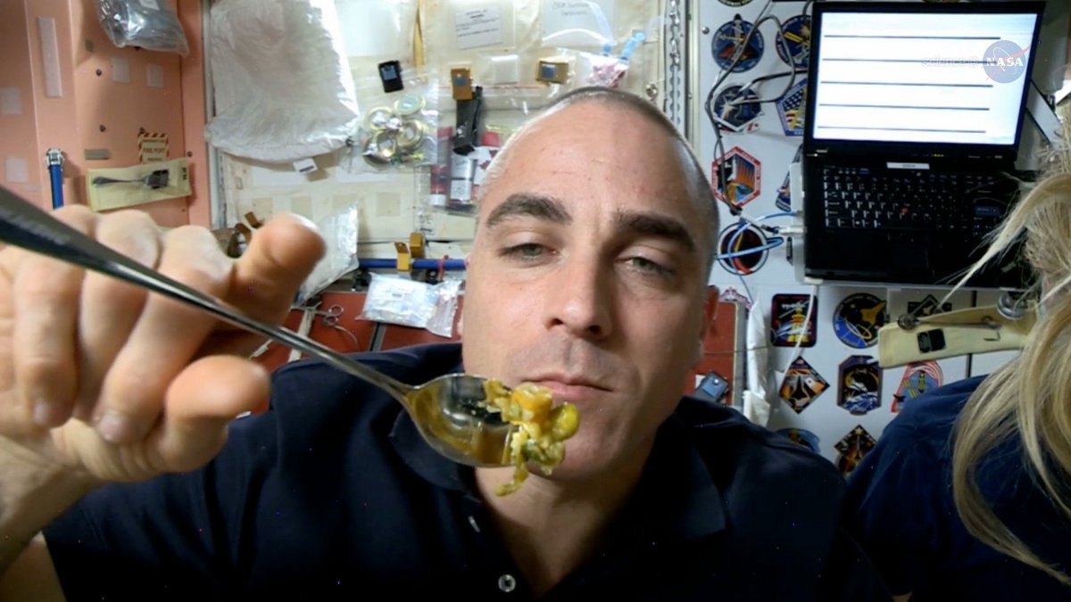 The relationship between a successful exploration mission and balanced nutrition is vital in the extreme vastness of outer space. @ISS_Research