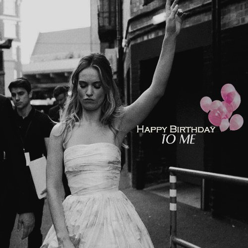 Happy Bday to me with my wife Lily James always and forever, also she turns her 30 this Friday. Aries vibes