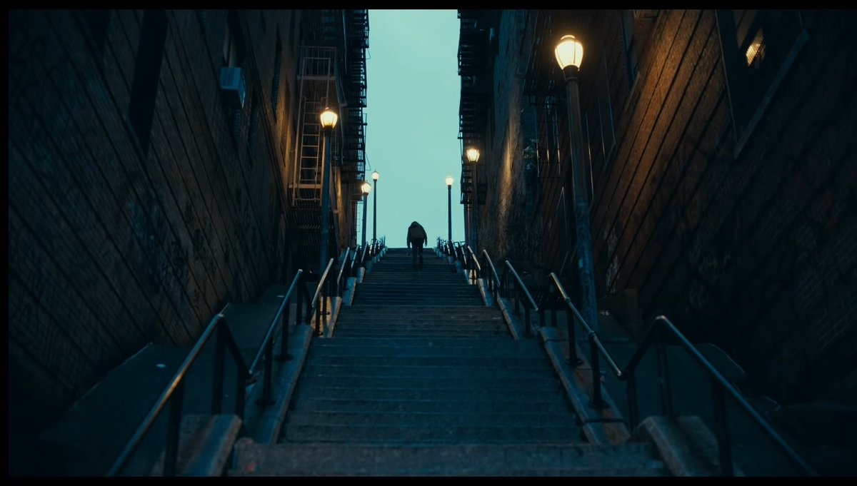 """Mehdi• on Twitter: """"So the stairs symbolizes his descent into madness,  right? #Joker… """""""