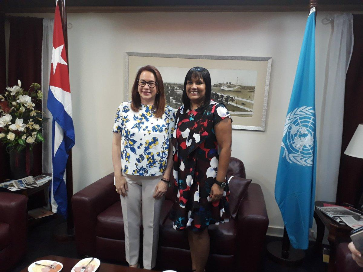President of UN General Assembly visits Cuba.