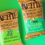 Image for the Tweet beginning: Chip challenge: Wasabi Ranch or