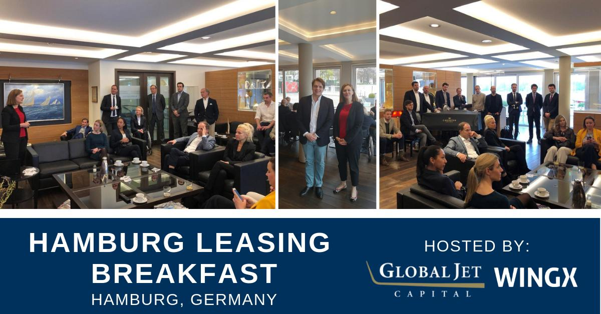 Global Jet Capital's Alexandra Asche was thrilled to help educate industry thought-leaders on the value of business aircraft operational leases today at the Hamburg Leasing Breakfast event co-hosted with @wingxbizav. #bizav #aviation #businessaviation