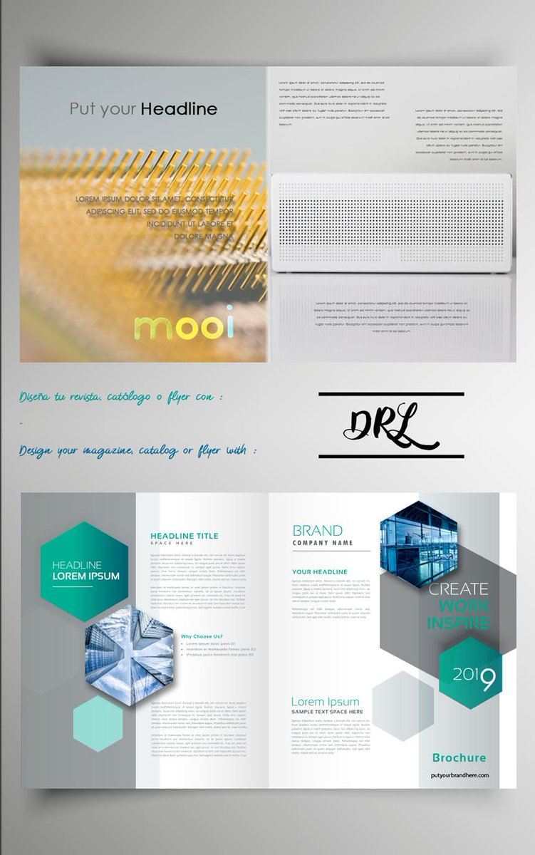 Diseña tu revista catálogo o flyer con DRL  - Design your magazine catalog or flyer with DRL http://DRLweb.com  #Diseña #revista #catálogo #flyer #DRL #Design #magazine #catalog #flyer #DRLweb
