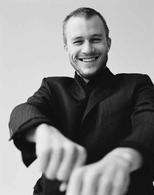 Happy birthday Heath Ledger, you are truly missed... I still can\t believe he\s gone