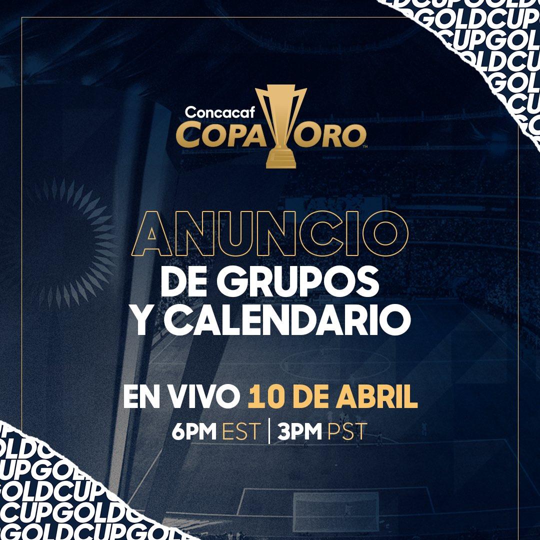 Sorteo Copa Oro el 10 de abril del 2019. D3Q_oanUwAA1VW6