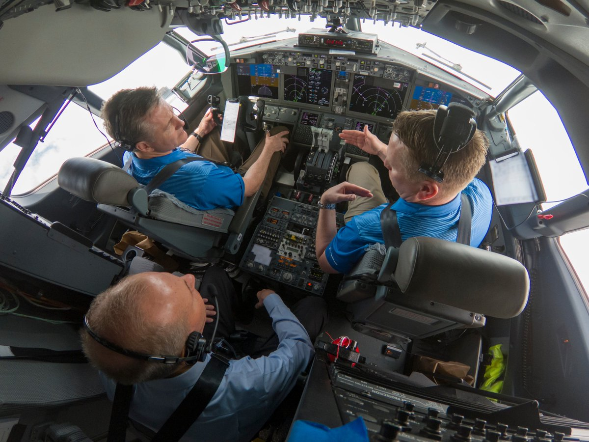 Dennis Muilenburg, @BoeingCEO, experienced first-hand our MCAS software update performing safely in action during a 737 MAX 7 demo flight today.  More about the proposed MCAS software update here: http://boeing.com/commercial/737max/737-max-software-updates.page…
