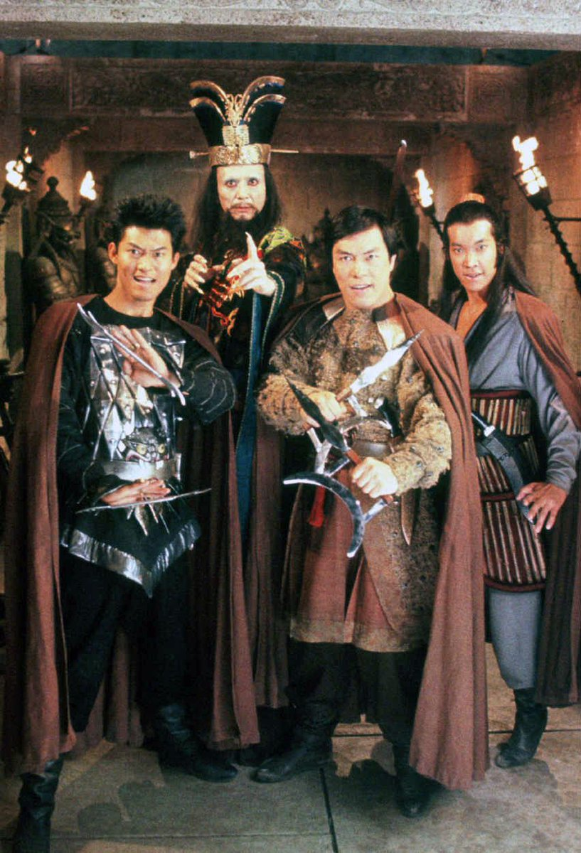Cory Doctorow Blm On Twitter James Pax Lightning James Hong Lo Pan Carter Wong Thunder And Peter Kwong Rain In A Promotional Photo For Big Trouble In Little China 1986 Https T Co Nghf2pmx7v Https T Co Zaxdt36okw
