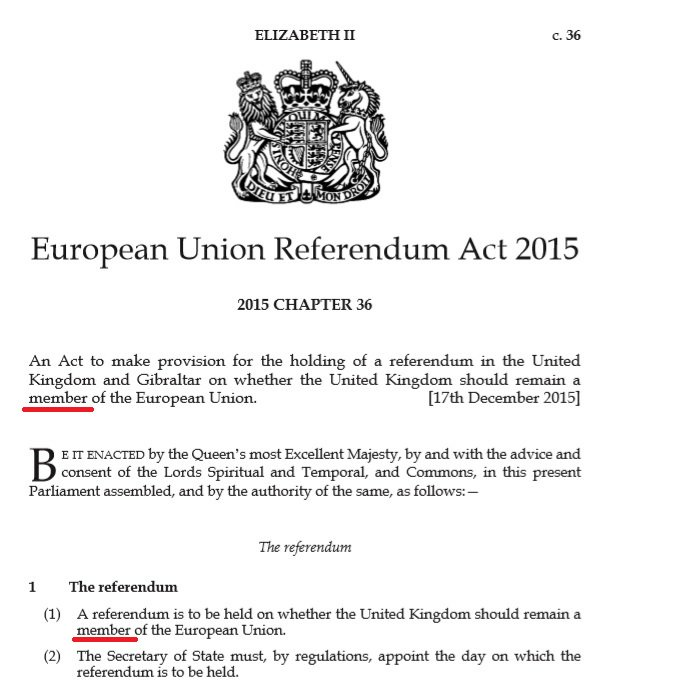 European Union Referendum Act 2015