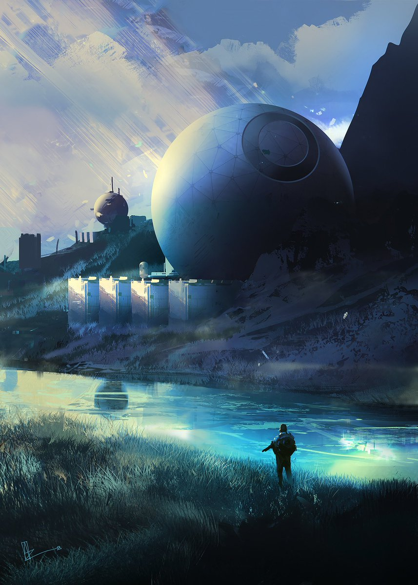 sci fi art - HD857×1200