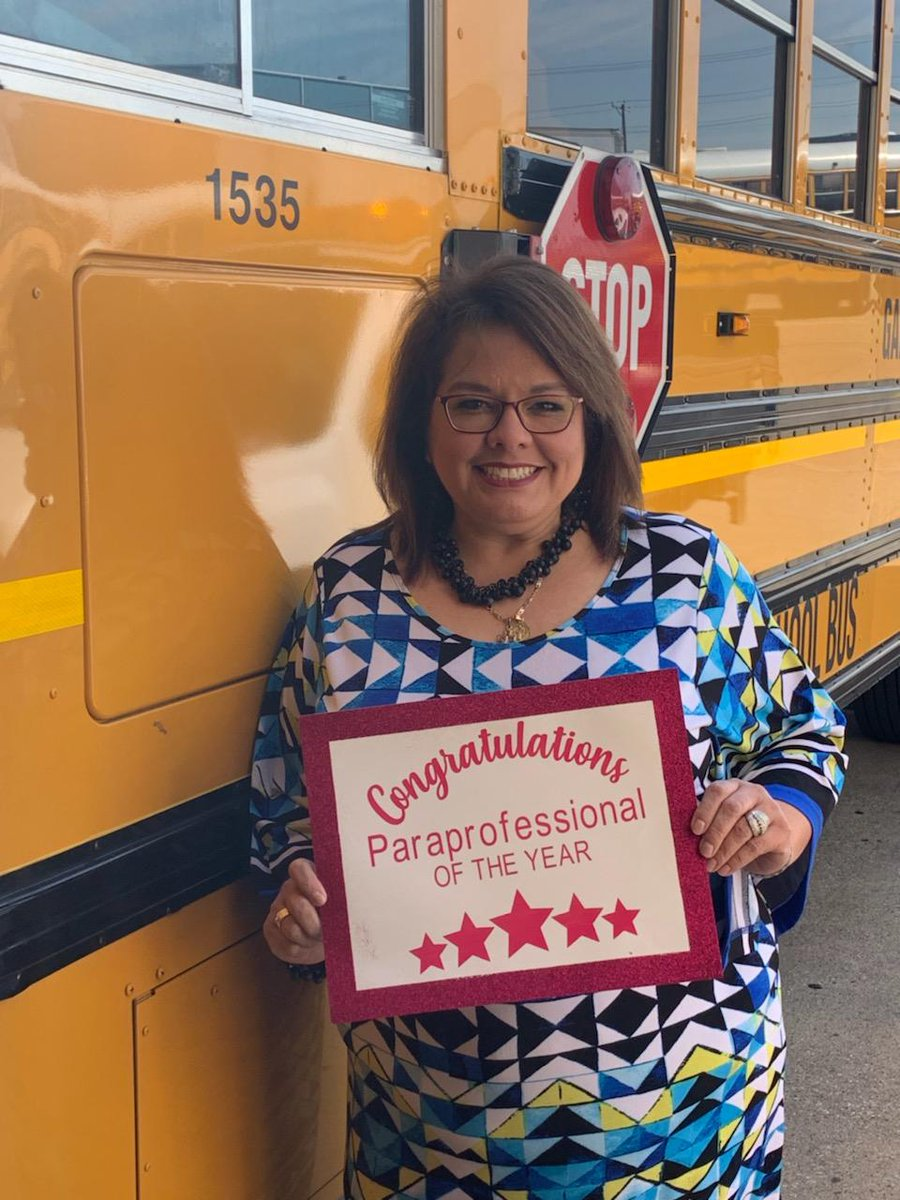 school bus driver appreciation day texas