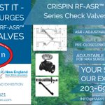 Image for the Tweet beginning: Valves With Integrity - CRISPIN
