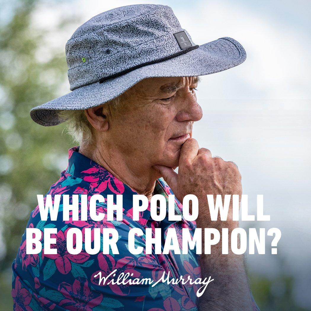 49430ceb643d8 Two random winners will each get their favorite WMG spring polo!   BillMurray http   bit.ly 2Vim8Hr pic.twitter.com vzuidsgOew
