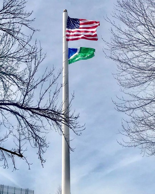 #CellTower#Flagpoles 150' height  external #winch #RetainerRing Rigging #wire center #Halyard #US /. Custom Flag @Bolingbrook https://t.co/aPoyVcanWX https://t.co/Xde2yynSyD