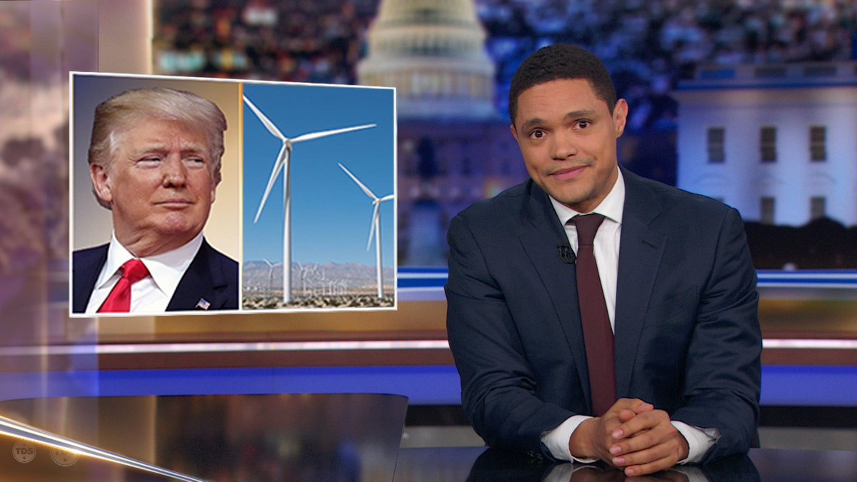 President Trump: Windmill 'noise causes cancer'