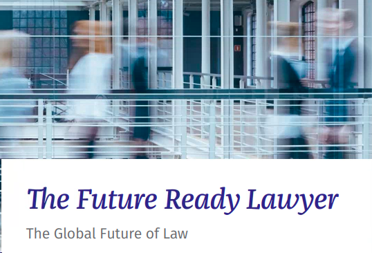 Very proud to be mentioned as one of the five Global Legal Industry Luminaries on legal technology, innovation and transformation in the Wolters Kluwer 2019 Future Ready Lawyer Survey.   Here you can download the full Report https://t.co/VZy3oXfSbz https://t.co/vmLTJYTgMQ