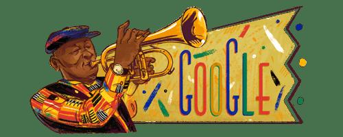 RT @sboshmafu: The Google doodle today (4 April) celebrates what would've been Bra Hugh Masekela's 80th birthday. https://t.co/7zgorS0O76